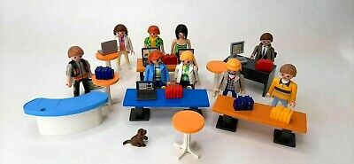Playmobil Silver Trash Garbage Can Part 30022940 From Car Wash Set 4312