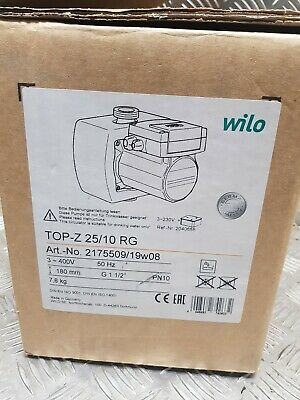 Wilo Top-Z 25/10 19W Drinking Water Circulator Pump