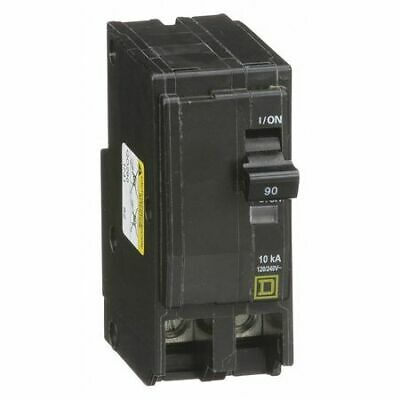 SCHNEIDER ELECTRIC Miniature 120//240-Volt 30-Amp QHB130 Molded Case Circuit Breaker 600V 90A