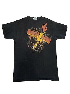 """As I Lay Dying /""""SAN DIEGO Hot Topic CALIFORNIA/"""" T-Shirt  NWOT"""