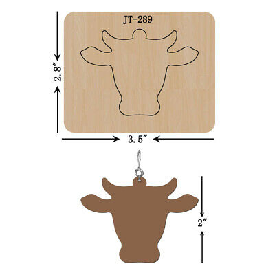 Leather Earrings Wooden Cutting Die// Large PAW PRINT //Sizzix Compatible-JT327