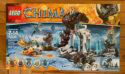LEGO 70226 Legends of Chima 621pcs MAMMOTH/'S FROZEN STRONGHOLD Maula Mottrot NEW