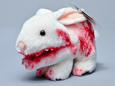 Toy Vault Death Rabbit with Big Pointy Teeth Monty Python NON-WORKING NEW IN BAG