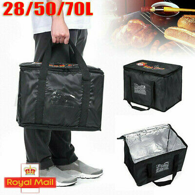 Food Delivery Insulated Bags Pizza Takeaway Thermal Warm/Cold Bag Ruck 3Sizes UK