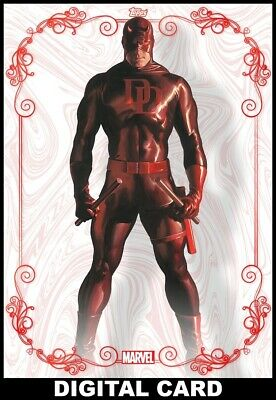 Topps Marvel Collect Daredevil RUBY PROFILE TIMELESS 2020 DIGITAL CARD