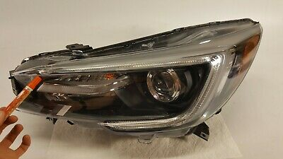 2018 2019 Subaru Legacy Outback Headlight Driver Left Led Lamp Oem Dent Lens