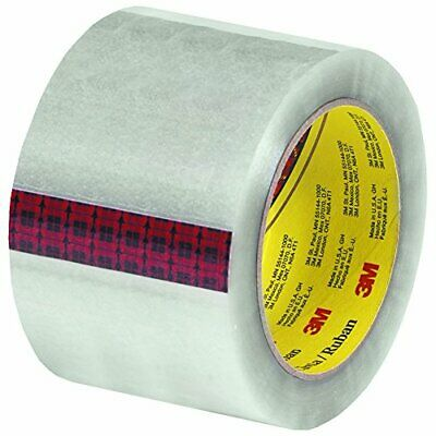 "Scotch T9073136PK Carton Sealing Tape 3"" x 110 yd Clear Pack of 6"