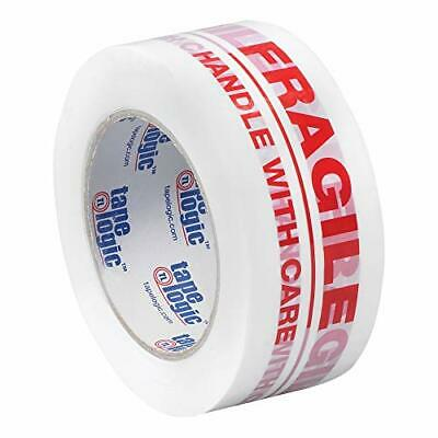 Aviditi Tape Logic 2 Inch x 110 Yard 2.2 Mil Red/White Heavy Duty Packing Tap...