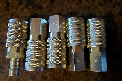 """AMFLO CP21 Male 1//4/"""" NPT Pneumatic Air Coupler Industrial Quick Fitting 10 PACK"""