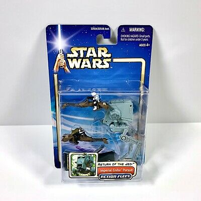 STAR WARS ACTION FLEET SERIES AT-ST SCOUT WALKER OF BATTLE PACK #2