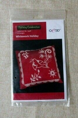 Whitework Holiday Machine Embroidery CD by OESD 12428