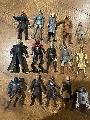 """10 Star Wars """"Mini Style Lego"""" 3 3//4"""" Action Figure Replacement Blister 1:18"""