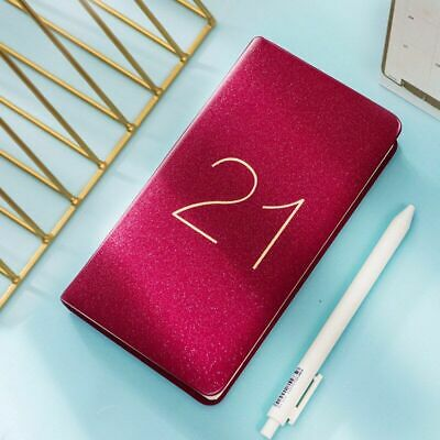 2021 Planner Organizer Agenda Small A6 Diary Notebook Journal 365 Days Calendar