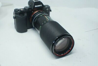 SONY E MOUNT ADAPTED 75-200mm PARAGON TELEPHOTO ZOOM LENS A7 NEX,A6000