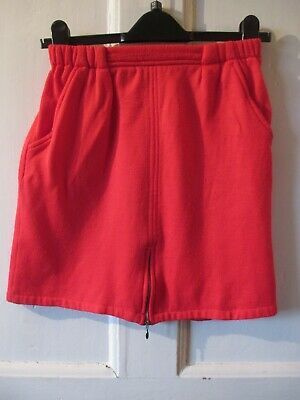 Retro Vintage BHS Red Skirt Age 10-11 yrs height 146 cm