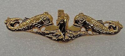 Officer with Submarine Dolphin Insignia VANGUARD Navy TIE Clasp
