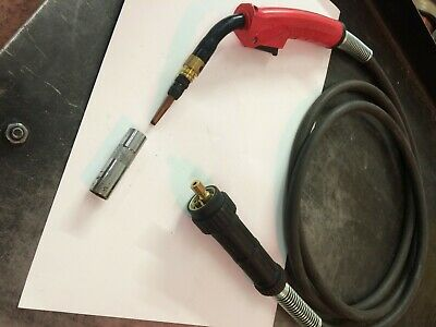 SWP MB38 EURO FITTING  MIG WELDING TORCH 3MTR