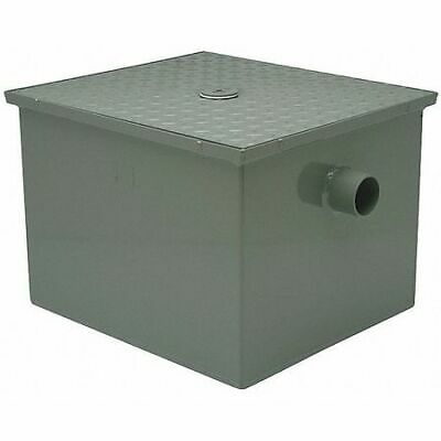 Zurn Gt2700-50-4Nh Grease Trap Interceptor,4 In,50 Gpm