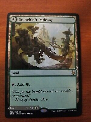 1x Branchloft Pathway //// Boulderloft Pathway MTG Zendikar Rising NM Magic Regula