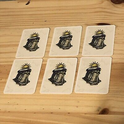Catan Expansion Cities /& KnightsBarbarian TileExtra//Replacement Game Piece