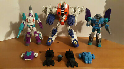 Transformers Power Of Primes Starscream wreck gar And Blackwing lot