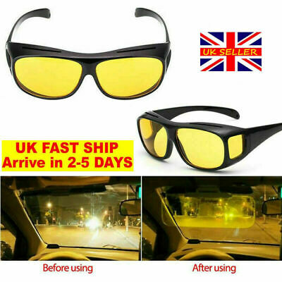 NIGHT DRIVER POLARISED POLARIZED GLASSES SUNGLASSES SPRUNG LOADED ARMS TAGGED
