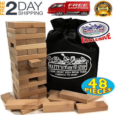 Details about  /Giant Wood Stacking Game for Yard Pool Picnic Party Entertainment