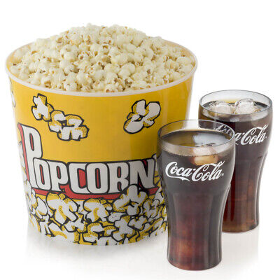 Qty 2 AMC Theaters LARGE DRINK and 1 LARGE POPCORN Gift Certificates w/ Pin 6/21