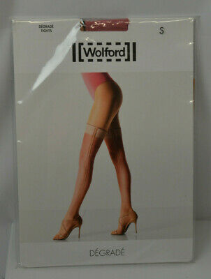 ✨ DEGRADE Tights BY WOLFORD ✨ M Sahara Rose White ✨ RARE 2014 Edition