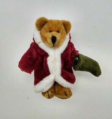 "Wuzzie/"" Original Hang Tag Retired Boyds Bears Santa Wuzzie Christmas /""Twas F"