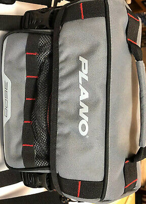 NEW PLANO WEEKEND SERIES 3600 FISHING TACKLE BAG PLABW361W PLUS 2 UTILITY TRAYS