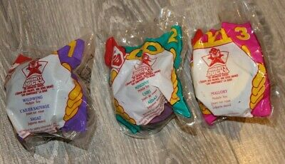 NEW NIP Vintage 1996 McDonald/'s MIGHTY DUCKS Happy Meal Toys Complete Set of 4