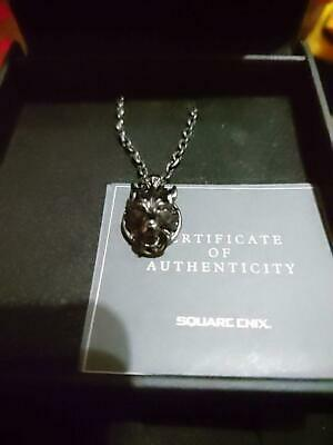 SQUARE ENIX FINAL FANTASY VII Advent Children Silver Pendant CLOUDY WOLF from JP