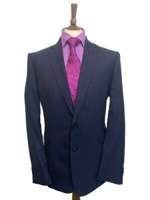 Jeff Banks London Men S London Travel Plus Designer Wool Suit 44r W36 L29 New 35 00 Picclick Uk