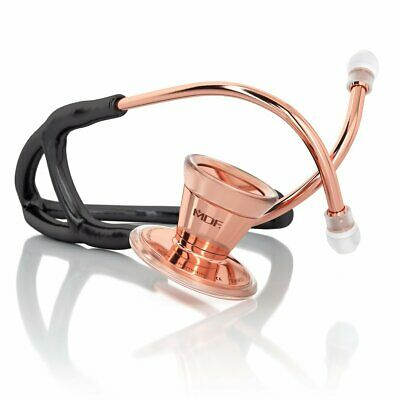 ProCardial® CORE Stethoscope > Rose Gold Edition - Rose Gold - Black