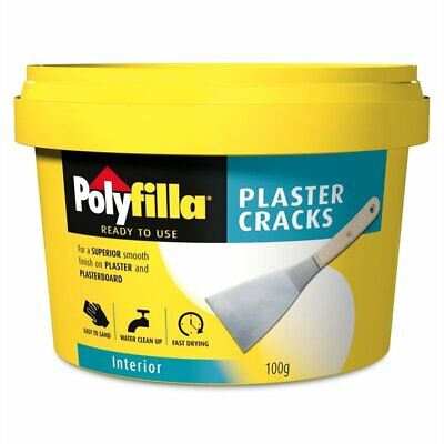 Polyfilla Quick Dry Filler Interior Up to 50mm for Plasterboard 340g