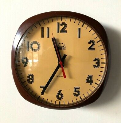 Vintage Smiths Timecal Wall Clock - 1970s