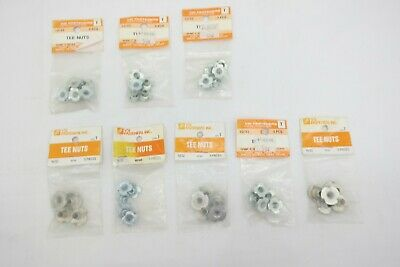 10/32 Tee Nuts Mixed 4 & 3 Pronged Lot of 40  T5