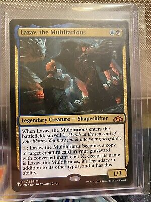 English MTG Guilds of Ravnica the Multifarious NM 1x Lazav