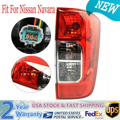 ADFIOADFH Pair Car Rear Tail Light Lamp Brake Signal lamp with Harness Warning//Fit For Nissan Navara NP300 D23 2015-2019 Color : Left