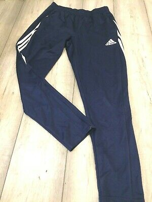 Adidas Climalite Slim Fit Tracksuit Bottoms Size Large Blue