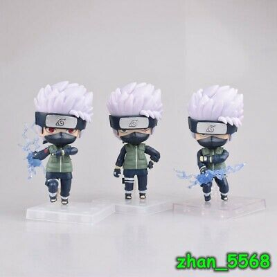 NEW Sealed~SET OF 8 small NARUTO PLASTIC FIGURES~acquired in Japan-ship free
