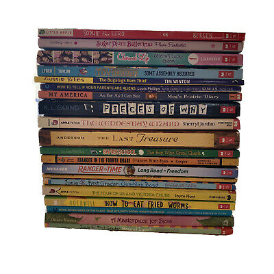 Lot of 20 Chapter Books Elementary Young Girls Youth Early Reader YA Children