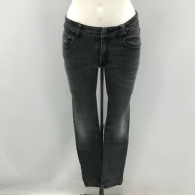 Hugo Boss Jeans Age 14 Years Girls Washed Black Skinny Fit Faded Denim 481742