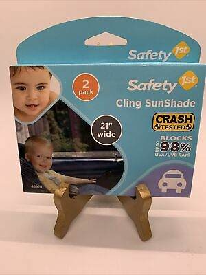 Safety 1st Infant Child Cling Sunshade For Car Window  -2pk