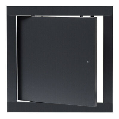 Anthracite Access Panel 200mm x 200mm ABS Plastic Flam Inspection Hatch Door