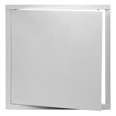 White Access Panel 400mm x 400mm ABS Plastic Inspection Door Revision Hatch Flap