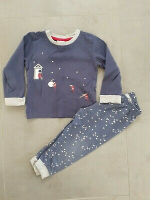 Boys The Little White Company Soldier Glow In The Dark Pyjamas 12-18 Months