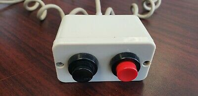 Siemens OP10 Dual Push Button Cord Assembly.  Used, Tested and fully functional.
