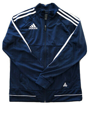 Kids Childrens Adidas Navy Blue Tracksuit Top Jacket Age 13-14